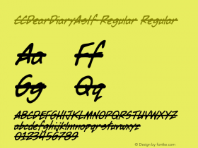 CCDearDiaryAsIf-Regular
