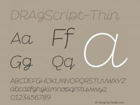 DRAgScript-Thin