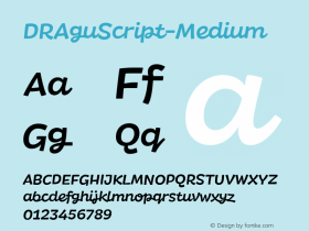 DRAguScript-Medium