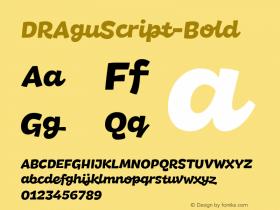 DRAguScript-Bold