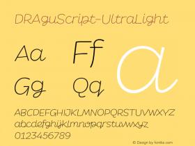 DRAguScript-UltraLight