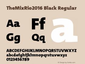 TheMixRio2016 Black
