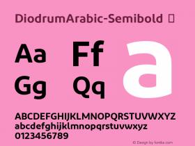 DiodrumArabic-Semibold
