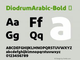DiodrumArabic-Bold