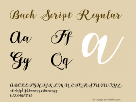 Bach Script