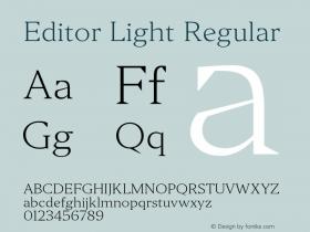 Editor Light