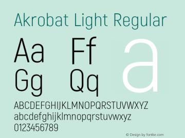 Akrobat Light