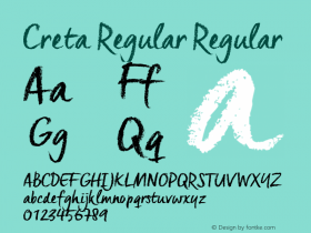 Creta Regular