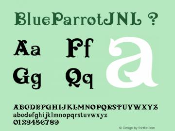 BlueParrotJNL
