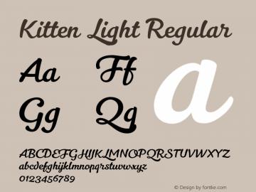 Kitten Light