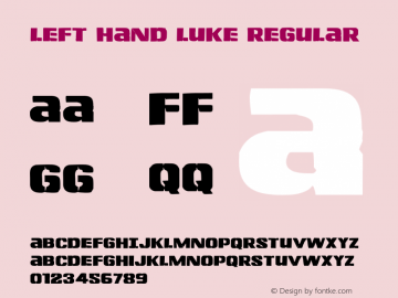 Left Hand Luke