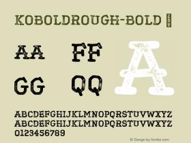 KoboldRough-Bold