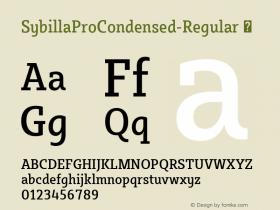 SybillaProCondensed-Regular