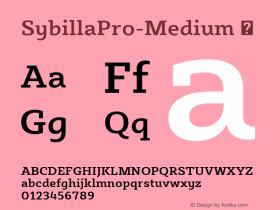 SybillaPro-Medium