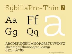SybillaPro-Thin