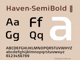 Haven-SemiBold