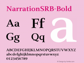 NarrationSRB-Bold