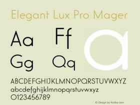 Elegant Lux Pro