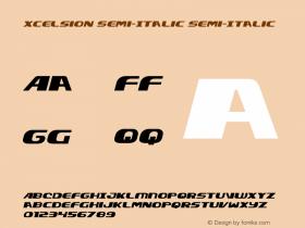 Xcelsion Semi-Italic