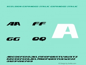 Xcelsion Expanded Italic