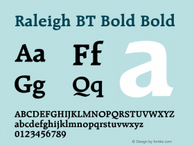 Raleigh BT Bold