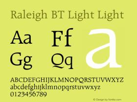 Raleigh BT Light