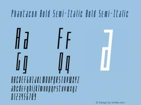 Phantacon Bold Semi-Italic
