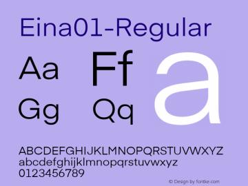 Eina01-Regular