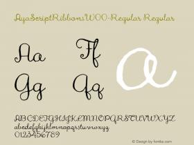 AyaScriptRibbons-Regular