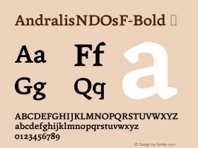 AndralisNDOsF-Bold