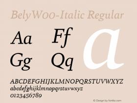 Bely-Italic