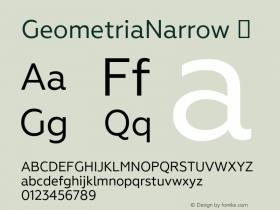 GeometriaNarrow