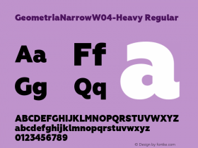 GeometriaNarrow-Heavy