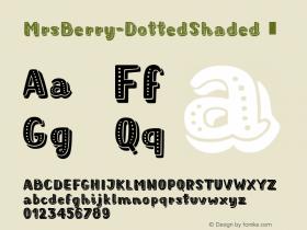 MrsBerry-DottedShaded
