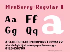 MrsBerry-Regular