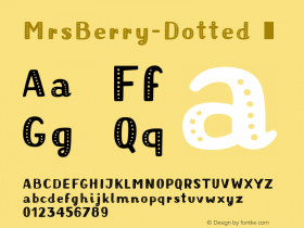 MrsBerry-Dotted