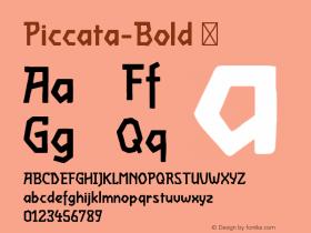 Piccata-Bold