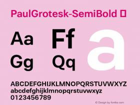 PaulGrotesk-SemiBold