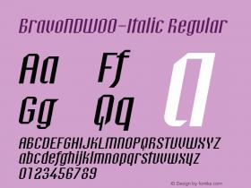 BravoND-Italic
