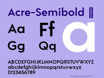 Acre-Semibold