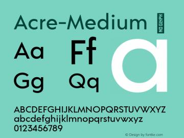 Acre-Medium
