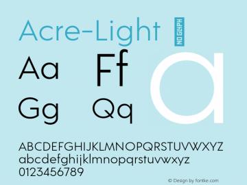 Acre-Light