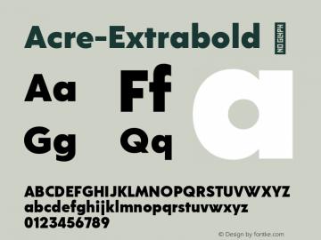 Acre-Extrabold