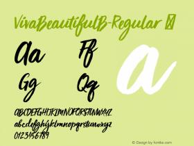 VivaBeautifulB-Regular