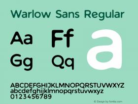 Warlow Sans