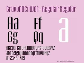 BravoNDCn-Regular