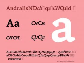 AndralisNDExp-Bold
