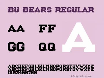 BU Bears