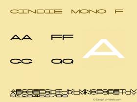 Cindie Mono