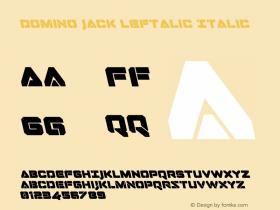Domino Jack Leftalic